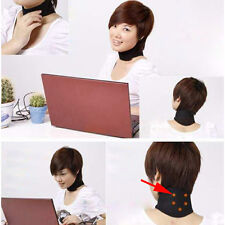 Magnetic Therapy Neck Spontaneous Self Heating Headache Belt Neck Massager New