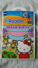 VTECH VReader Hello Kitty Surprise 3-5 years Reading Learning Games Pixar Sounds