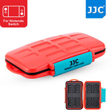 JJC Memory Card Case Hard Holder for Nintendo Switch Game Card*8+Micro SD Card*8