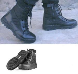 Bottes de combat tactiques pour hommes, chaussures militaires de camouflage
