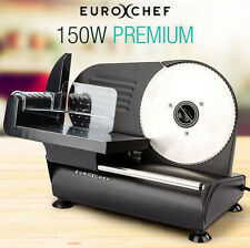 NEW 150W Premium Electric Meat Slicer 0-15mm meats, cheese, bread, fruit & veg