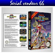 """Boitier du jeu """" DOUBLE DRAGON 2 """", Nintendo, Nes. FR. HD. SANS LE JEU."""