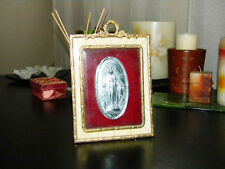 ANTIQUE GORGEOUS PICTURE FRAME IMMACULATE CONCEPTION