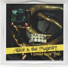 (DL856) Alice & The Majesty, I Could Love You - DJ CD
