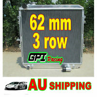62MM 3 ROW aluminum radiator for toyota HILUX LN106 LN111 Diesel 88-97 AT/MT