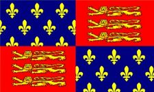 3'x5' King Edward III Flag UK British Royal Coat Of Arms Monarchy England 3x5