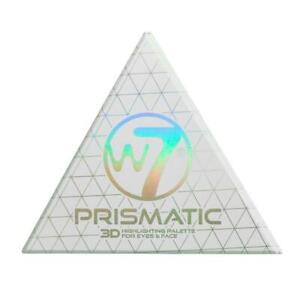 W7 Prismatic 3D Highlighting Palette For Eyes & Face Gift