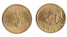 1978 Vaticano Lire 200 Anno XVI Fior Di Conio UNC