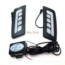 LED Light Guide Daytime Running Light DRL LED Front Bumper Light for Ford Ranger