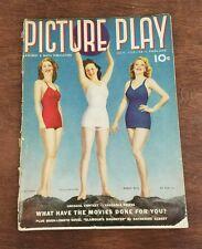 Picture Play July 1939 Ellen Drew - Susan Hayward - Shirley Ross - Magazine