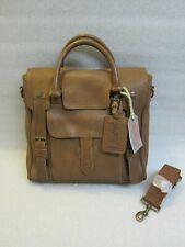 Rawlings Leather Vintage Veg Tan Bag/Messenger Briefcase - Unused