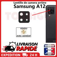Vitre arrière caméra samsung galaxy a12 Lentille appareil photo Lens verre