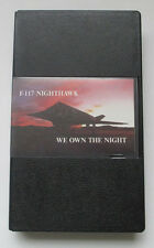 F-117 NIGHTHAWK - We Own The Night (VHS Video) Desert Storm Fighter Jets, Bagdad