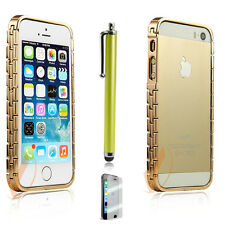 New Aluminum Metal Bumper Cases Watch Chain Edition for iPhone 5 5G 5S- 2014 NEW