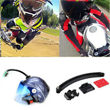 Durable Motor Cross Arm Mount Tripod Helmet Extension For Gopro Hero 3+ 4 Camera
