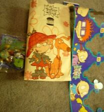 RugRats the Movie Burger King Meal Bag Crown & Angelica Shirley Lock Holmes 1998