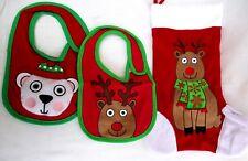 Avon.Tiny Tillia.2 Christmas Bibs & Stocking.New
