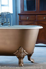 Roll top double ended fonte bain GARGOYLE pieds n th