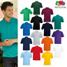 Fruit of The Loom 65/35 Polo shirt - Men's short sleeve Smart/Casual top S-5XL