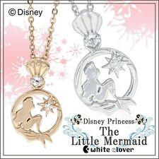 Disney Ariel The Little Mermaid Silver 925 necklace Pendant New gift Princess