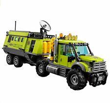 Lego 60124 Centro Operaciones Móvil del Volcán: Base de exploración