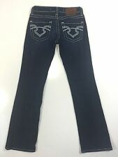LN Big Star Remy Low Rise Fit Womens Denim Blue Jeans Dark Wash Stretch Ret $98!