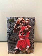 1995-96 FLEER METAL MICHAEL JORDAN BASKETBALL CARD #212.