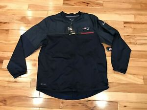 Nike New England Patriots Hybrid Navy Blue Jacket 746551 419 Men's XL NWT