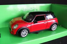 Welly New Mini 1:24 red / black