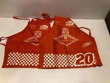2 Home Depot Kids Workshop Apron NASCAR