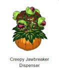 Webkinz Classic -Creepy Jawbreaker Dispenser- *Code Only* ~promo item~