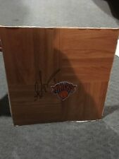 Amare Stoudemire New York Knicks Signed Floorboard COA