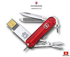 Victorinox Swiss Army Knife 58mm Mulit @work USB 32GB Pocket Tools 4.6125.TG32B