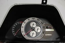Toyota Altezza instrument cluster RS200 XE10 gauge cluster Lexus IS300 Speedo