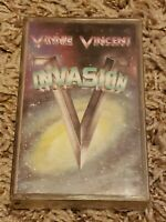 Vinnie Vincent Invasion Cassette Tape All Systems Go 1988 Hard Rock Glam Exc Oop