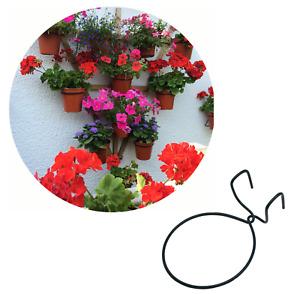 TRELLIS HOOKS.Hang flower pot on trellis or pallet.Plant hanger,holder,ring