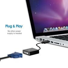 Adaptateur DisplayPort vers DVI COMPATIBLE PC MAC PLUG & PLAY WINDOWS MAC OS