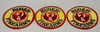 "VINTAGE RUGER FIREARMS OFFICIAL EMBROIDERED 3"" PATCH LOT X3 GUN MANUFACTURER"