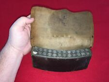 Antique War of 1812 - 1820s Era Ammo Cartridge Box With Metal Tin