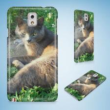 RUSSIAN BLUE CAT 3 HARD CASE FOR SAMSUNG GALAXY ACE 3/4/ALPHA