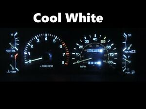 Gauge Cluster LED Dashboard Bulbs Cool White For 84 88 Toyota Pickup SR5 4Runner
