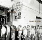 1917+NYC+Liberty+Bond+Line+Men+%40+White+Motor+Co+Sign+Glass+Photo+Negative+%231+BB