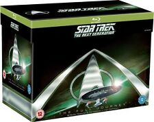 Star Trek: The Next Generation - Complete Series 1-7 [Blu-ray Set, Region Free]