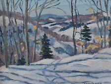 Elisabeth (Betty) Roberta Galbraith-Cornell 1916-2012 Painting Canadian Quebec