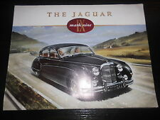 Prospekt Sales Brochure Jaguar mark nine Technische Daten IX Saloon Auto Car XK