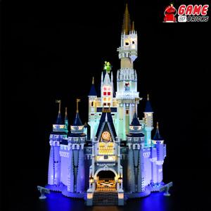 Game of Bricks LED Light Kit ONLY for Disney Castle 71040 (Classic Version)
