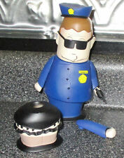 Mezco South Park Series 1 Officer Barbrady Action Figure Complete w/ All Access