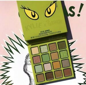 Kylie x The Grinch Pressed Powder Palette In Hand Ready To Ship