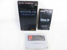 ULTIMA VII 7 The Black Gate Item Ref/bcc Super Famicom Nintendo Japan Boxed sf