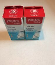 Playtex Baby VentAire Complete Tummy Comfort 1- 6oz 2 Pack Baby Bottle